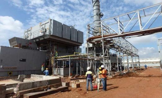 Relocation of a power plant from Italy to Ghana